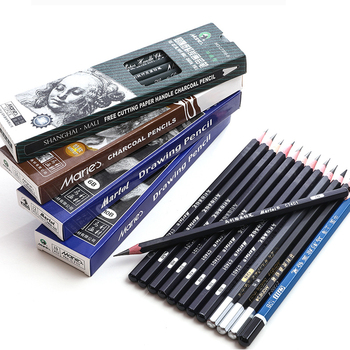 Maries Black Sketch Pencil for Drawing Painting HB 2H B 2B 3B 4B 5B 6B 7B 8B 10B 12B 14B Standard Pencil Stationery Art Supplies