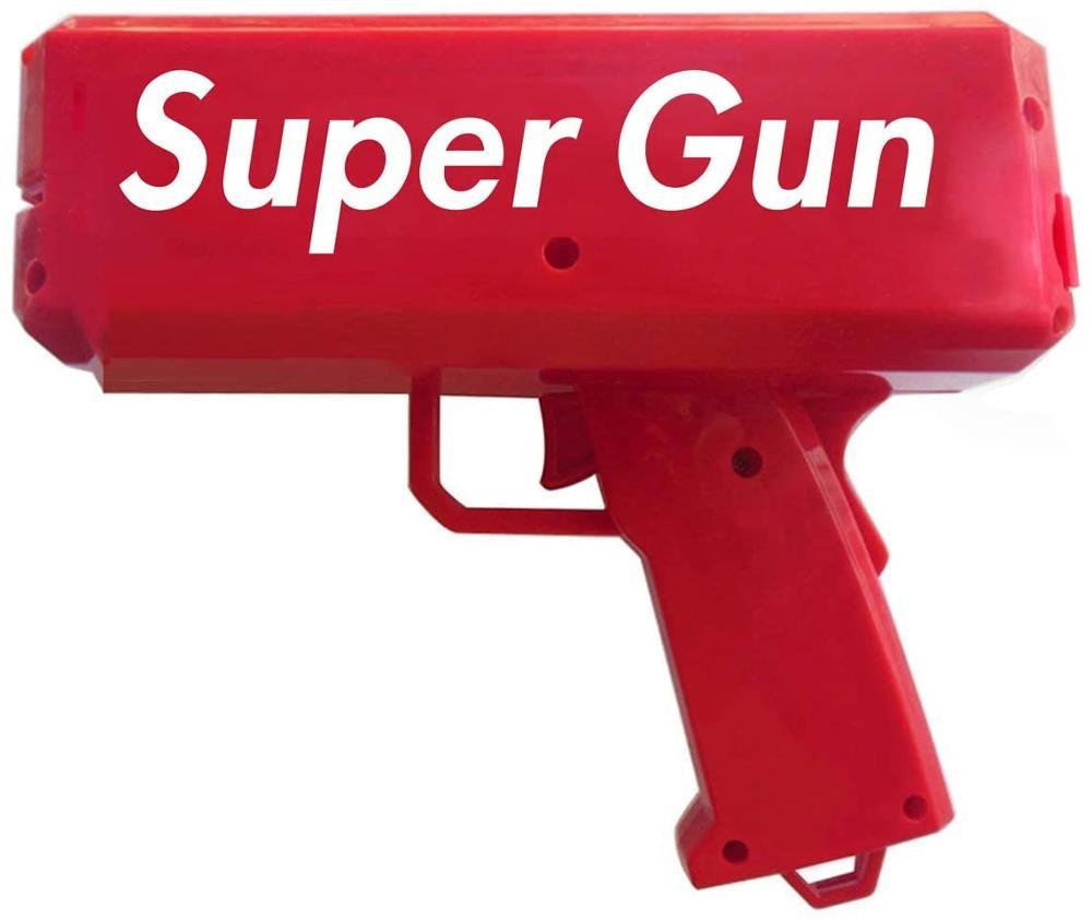 AHBLQD-pistola de dinero en efectivo de nueva generación, juguete de dinero en efectivo, versión de batería y juguetes recargables
