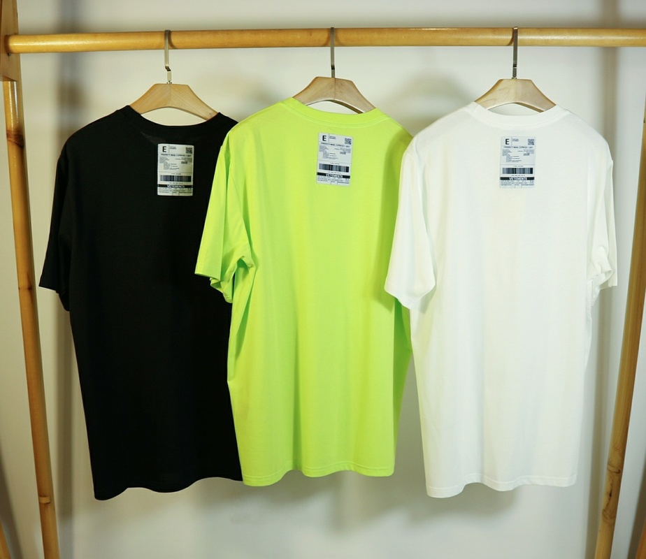 20ss Vetements T-Shirt Spring 100% Cotton EU Size 1:1 High Quality Vetements Top Tees Vetements T-shirt Men Women