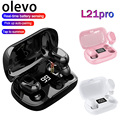 L21 Pro TWS Kopfhörer Bluetooth Wireless Kopfhörer Wasserdicht Stereo In-Ear Sport Ohrhörer Headsets mit Mic für Smartphone