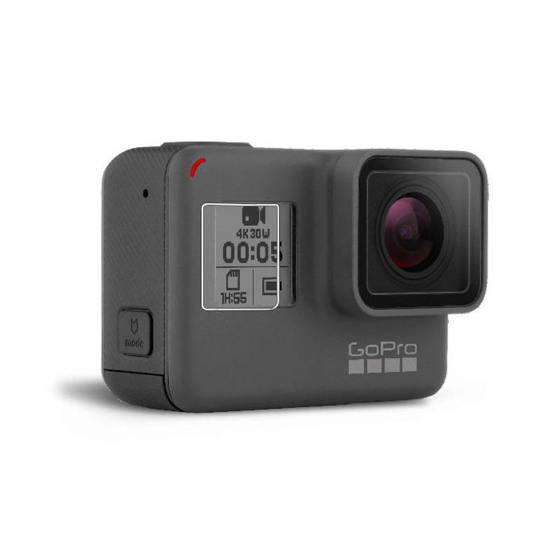 New Tempered Glass Protector Cover Case For Go Pro Gopro Hero 5 6 7 Hero5 Hero6 Hero7 Camera Lens Cap LCD Screen Protective Film 3