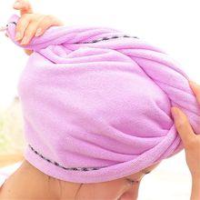 Hair-Hat Turban Head-Wrap After Hair-Drying-Towel Bath-Cap Shower Microfibre Thicker