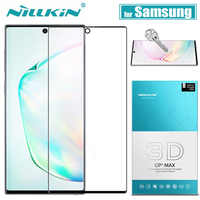 for Samsung Galaxy Note 10 9 8 S10 S9 S8 Plus Glass Screen Protector Nillkin 3D Full Glue Cover Tempered Glass for Samsung S10E