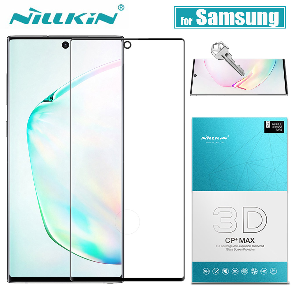 for <font><b>Samsung</b></font> <font><b>Galaxy</b></font> <font><b>Note</b></font> 10 <font><b>9</b></font> 8 S10 S9 S8 Plus <font><b>Glass</b></font> Screen Protector Nillkin 3D <font><b>Full</b></font> <font><b>Glue</b></font> Cover <font><b>Tempered</b></font> <font><b>Glass</b></font> for <font><b>Samsung</b></font> S10E image