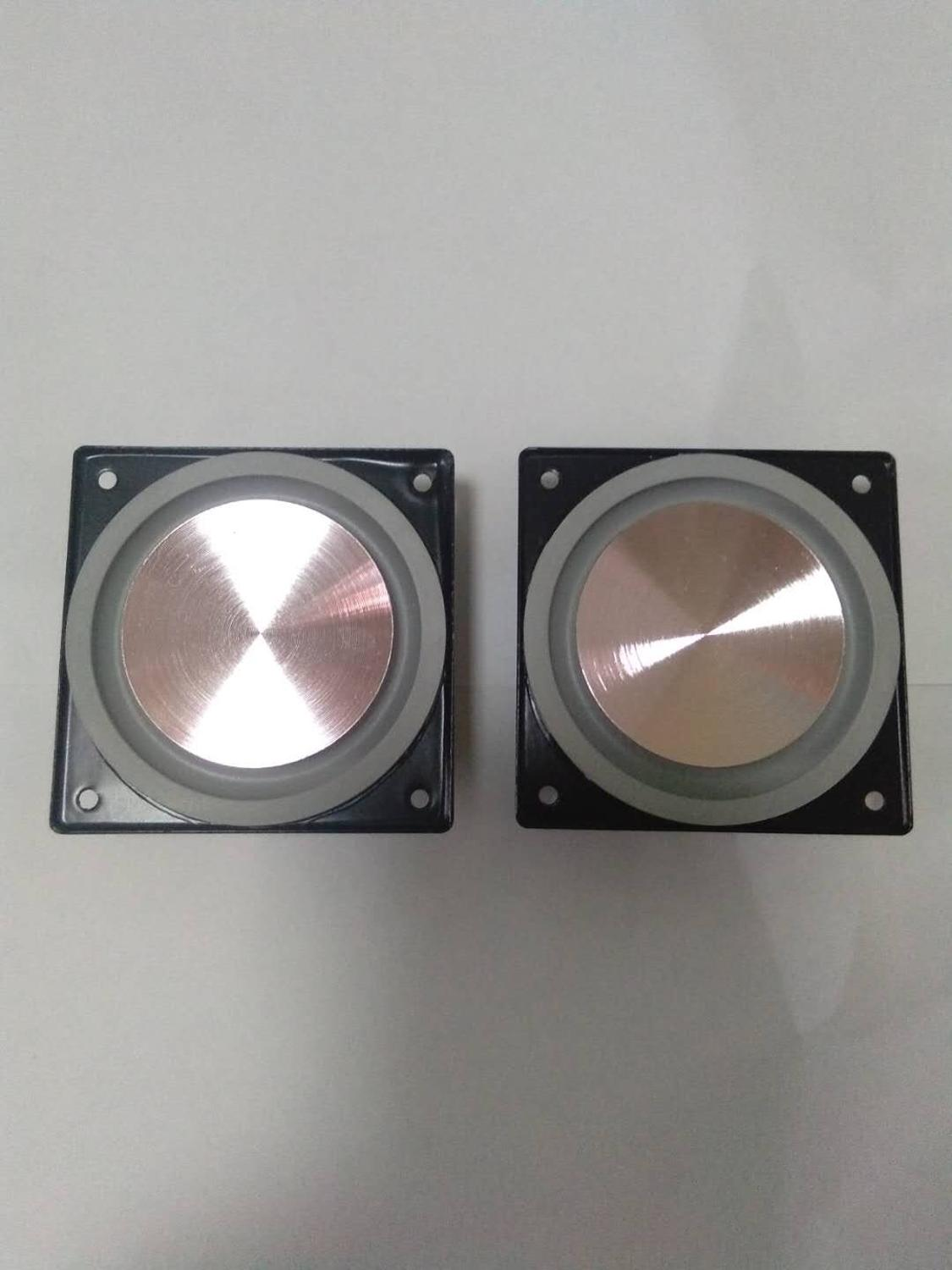 2.5 Inch Woofer <font><b>Speaker</b></font> <font><b>8ohm</b></font> <font><b>15W</b></font> ultra-thin Deep Bass Frequency Loudspeaker Repair Parts Rubber Edge Neodymium Metal Basin 2pcs image