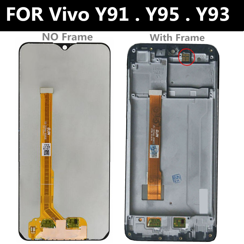 For VIVO Y93 Y93A LCD Display Touch Screen Display+Touch Assembly component replacement parts
