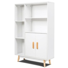 Floor-Storage-Cabinet Furniture Side-Decor HW63875 Bookcase Wooden-Display