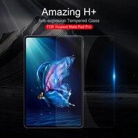 Para huawei matepad pro companheiro almofada pro 10.8 polegada vidro temperado nillkin incrível h + protetor de tela tablet pc película protetora