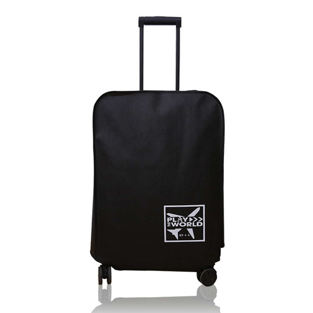 Travel Anti-scratch Waterproof Dust-Proof Outdoor Non-woven Fabric Protective Luggage Cover Thickened Suitcase Accessories