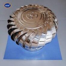 Нержавеющая сталь бесмощный кровельный вентилятор натуральный вентилятор ветровой турбины 800/900 Тип для заводской мастерской 10 шт в одной упаковке