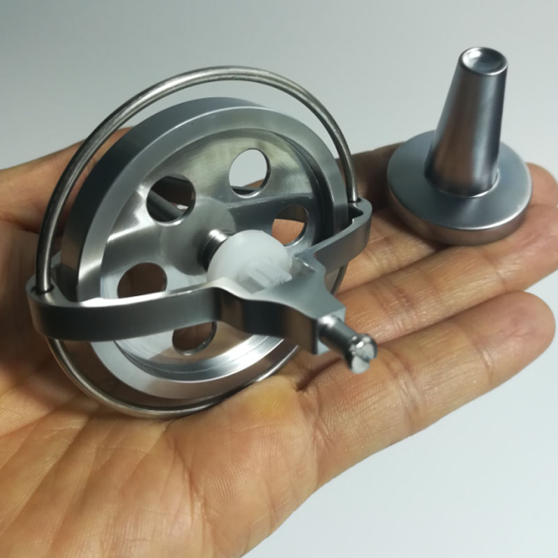 Instructional Equipment For Physical Antigravity Of Inertial Flywheel With Balanced Opening For Metal Mechanical Gyroscope Toys