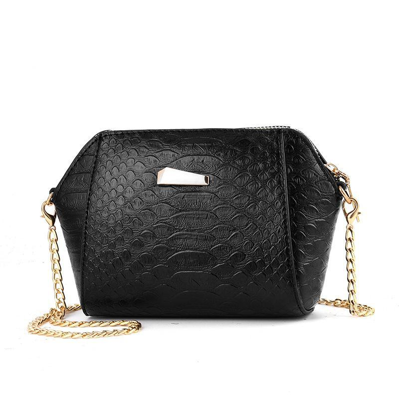 Fashion Lady Snake Pattern Totes Mini Bag Brand Female Bag Women Wild Shoulder Messenger Bag Leather Handbag Beach Phone Bags