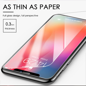 Image 5 - 3Pcs Full Cover Tempered glass on For iPhone 11 Pro Max Screen Protector iPhone X XR XS Max Protective Glass Film Curved edge