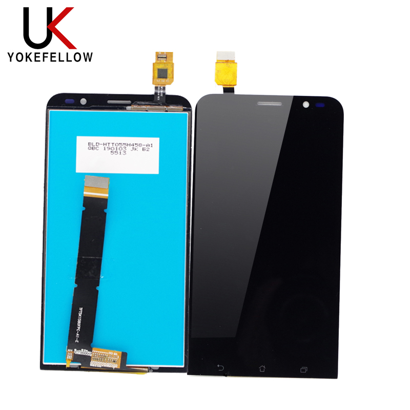 100% Tested LCD Display For <font><b>Asus</b></font> Zenfone GO TV ZB551KL <font><b>X013D</b></font> X013 LCD Display Screen Touch Digitizer Panel Assembly image
