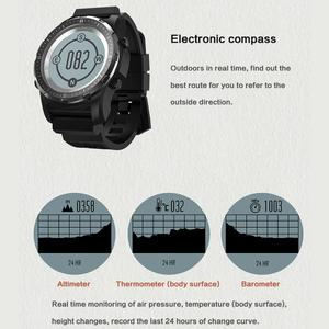 Image 3 - Смарт часы S966 мужские с GPS, пульсометром и давлением