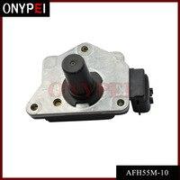 Sensor maciço AFH55M 10 do medidor de fluxo do ar maf para o recolhimento afh55m10 de nissan ka24e d21|sensor sensor|sensor maf|sensor nissan -