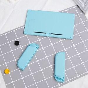 Image 3 - Myriann yedek anahtar konsolu arka kapak için Nintendoswitch NS oyun konsolu joy con anahtarı konut 8 renk ile
