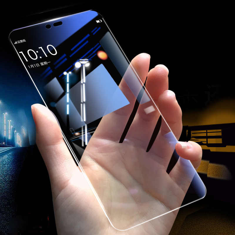 1 2 Pcs Tempered Glass untuk HUAWEI Mate 20 P30 Lite Honor 20 Pro Full Cover Screen Protector untuk Huawei honor V9 V10 V20 Galss