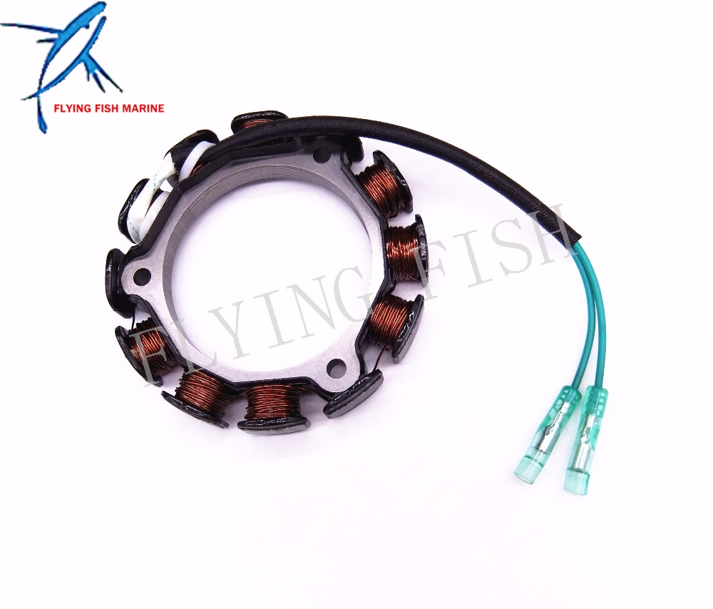 6BX-85510-A0 Lighting Coil Assy For Yamaha Outboard F4L F4B F4S F5A F6L F6S F6C  4-Stroke