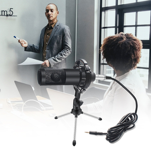 Image 4 - Metalen Condensator Microfoon Kit Voor Pc Computer Professionele Microfoon Met Stand Record Thuis Voor Omroep Karaoke