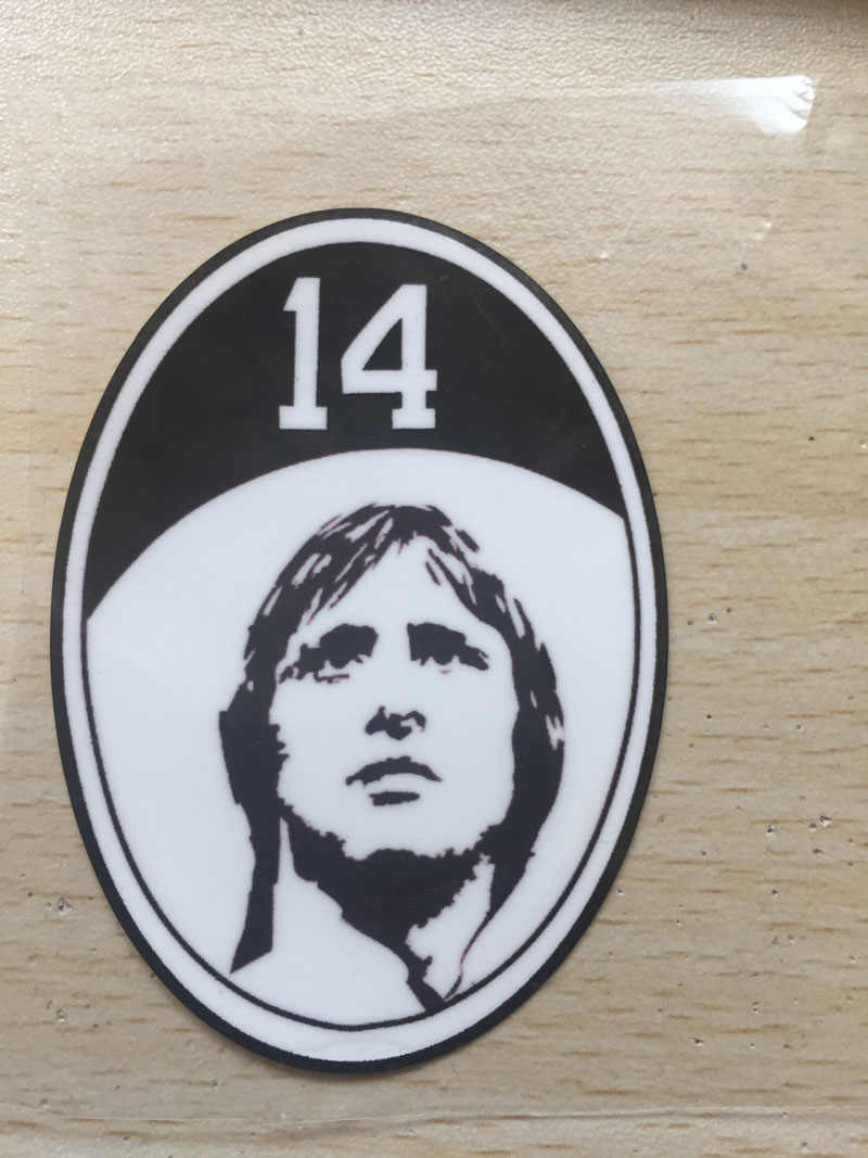 Parches Johan Cruyff Patch Johannes Cruijff Voetbal Patch Voetbal Badge