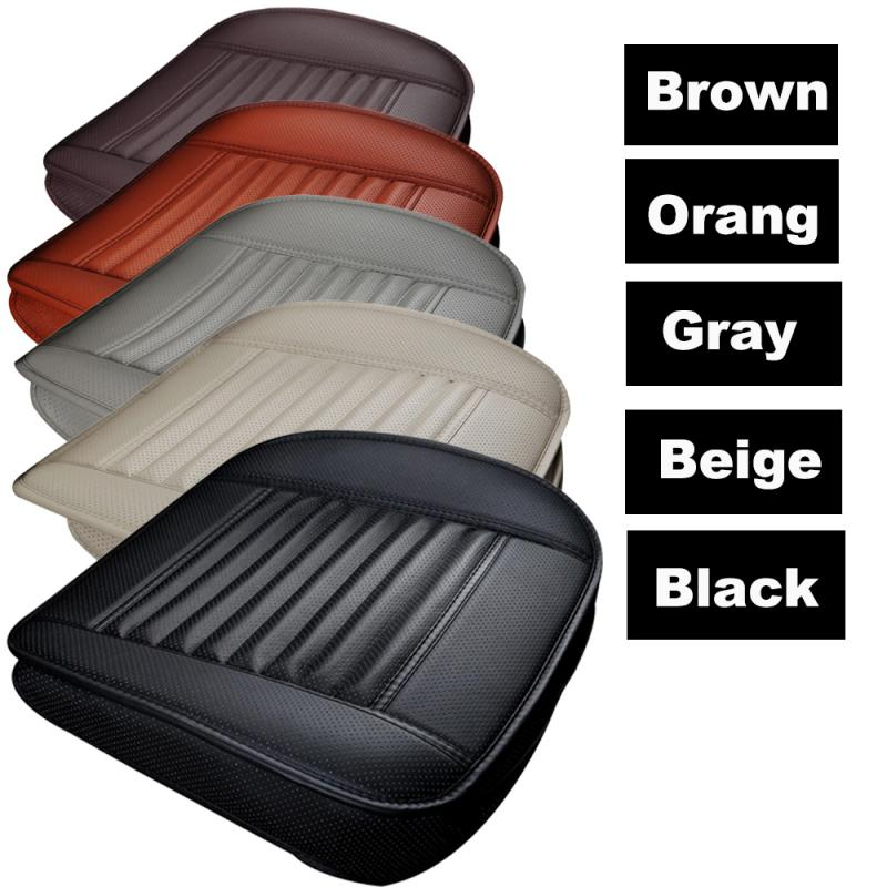Seat Cushion Car-Seat-Cover-Pad Auto-Chair Car-Styling-Supports Bamboo Universal 1PC title=