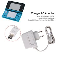 цена на EU Charger AC Adapter for Nintendo for new 3DS XL LL for DSi DSi XL 2DS 3DS 3DS XL