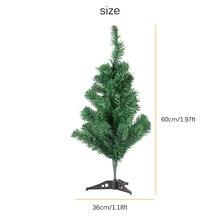 60 см шифрование Зеленая елка Мини искусственная Рождественская елка украшения Рождественская елка 90 см Вечерние