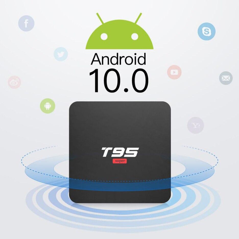 BYINTEK TV Box Android 10.0 ,2G+16G 2.4G WIFI, Media Player Netflix Hulu,Media player 4K Google Voice Assistant Youtube 1