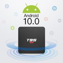 BYINTEK TV Box Android 10.0 2G + 16G 2.4G WIFI, Media Player Netflix Hulu,media Player 4K Google Voice Assistant YouTube