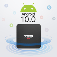 BYINTEK TV kutusu Android 10.0 ,2G + 16G 2.4G WIFI, Media Player Netflix Hulu, medya oynatıcı 4K Google Voice Assistant Youtube
