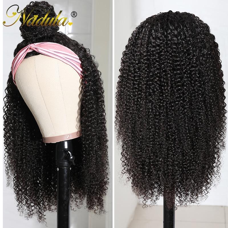 "Kinky Curly Half Wig 12""-28inch Long  Wig  Nadula Kinky Curly Headband Wig Affordable Natural Hair Wig 4"