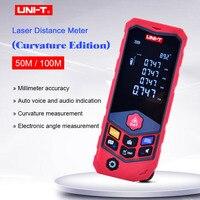 디지털 레이저 거리 측정기 UNI-T LM50D/LM100D  레이저 거리 측정기 EBTN 화면 레이저 거리 측정기 데이터 저장/음성 표시