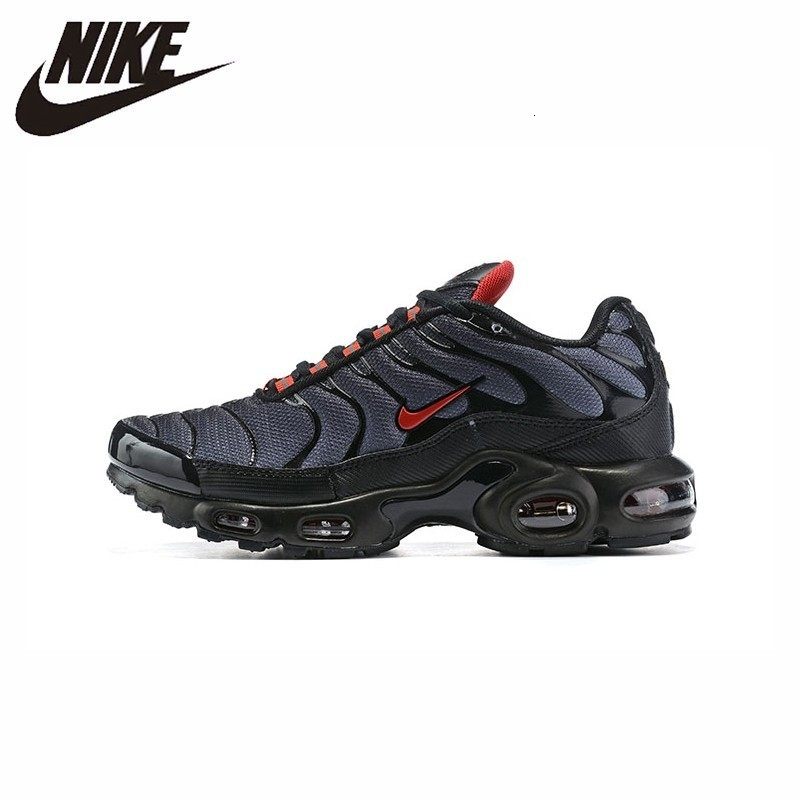 US $77.49 59% OFF|Nike Air Max Plus Tn Men's Running Shoes Original New Arrival Breathable Outdoor Sports Lightweight Sneakers #CI2299 001 on