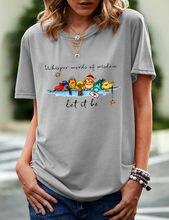 2021 yaz bayanlar basit SolidColor T-shirt modeli 6095