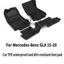Универсальный автомобильный коврик для ног mercedes benz tpe