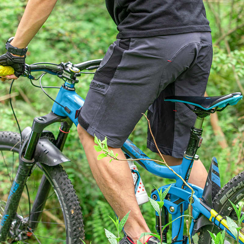 ROCKBROS Cycling Shorts Men MTB Road Bike Shorts Summer Outdoor Sports Biker Shorts Climbing Breathable Quick Dry Double Layer