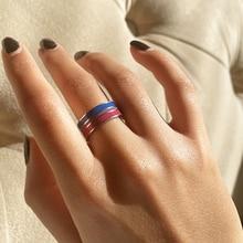 2021 Новый бисексуальный Прайд Кольца из нержавейки, в европейском и американском стиле кольцо для гомосексуалистов аксессуары