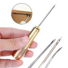 Shoe-Repair-Tool Hook Straight Awl Practical Copper Convenient Excellent-Material Durable
