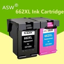 662 de substituição para HP662 662XL Cartucho de Tinta para Impressora HP Deskjet 1015 1515 2515 2545 2645 3545 4510 4515 4516 4518 printer