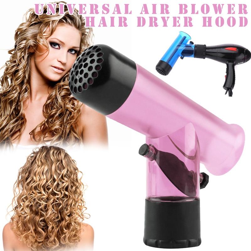 1 pièces sèche-cheveux diffuseur magique vent Spin détachable Curl cheveux diffuseurs rouleau bigoudi friser cheveux outils