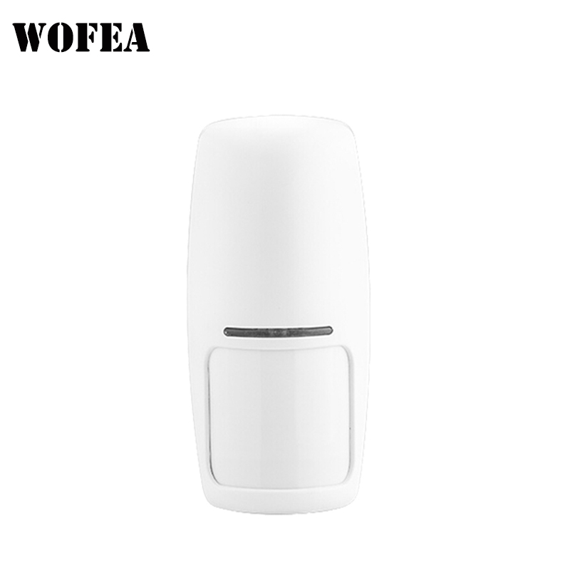 Wofea Wireless PIR Sensor Motion Detector 1527 Chips 433mhz Power By 9V Battery