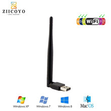 MTK7601 Wireless USB WiFi Antenna Network Youtube Adapter receptor GTMEDIA v7s satellite Receiver DVB S2 DVB T2 TV Box Internet