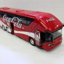 Подарочная игрушка модель автомобиля Cola реклама автобус модель автомобиля металлический автомобиль