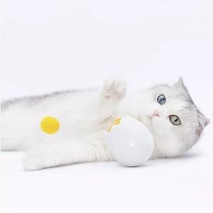 Image 5 - Youpin Furrytail Điện Tử Chuyển Động Cát Đồ Chơi Tương Tác Mèo Teaser Ngộ Nghĩnh Hình Đồ Chơi Rung Xoay Tương Tác Xếp Hình Đồ Chơi Cho Thú Cưng