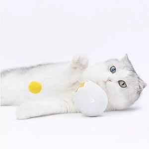Image 5 - Youpin Furrytail الحركة الإلكترونية القط لعبة التفاعلية القط دعابة متعة على شكل لعب رفرفة الدورية التفاعلية لغز ألعاب الحيوانات الأليفة