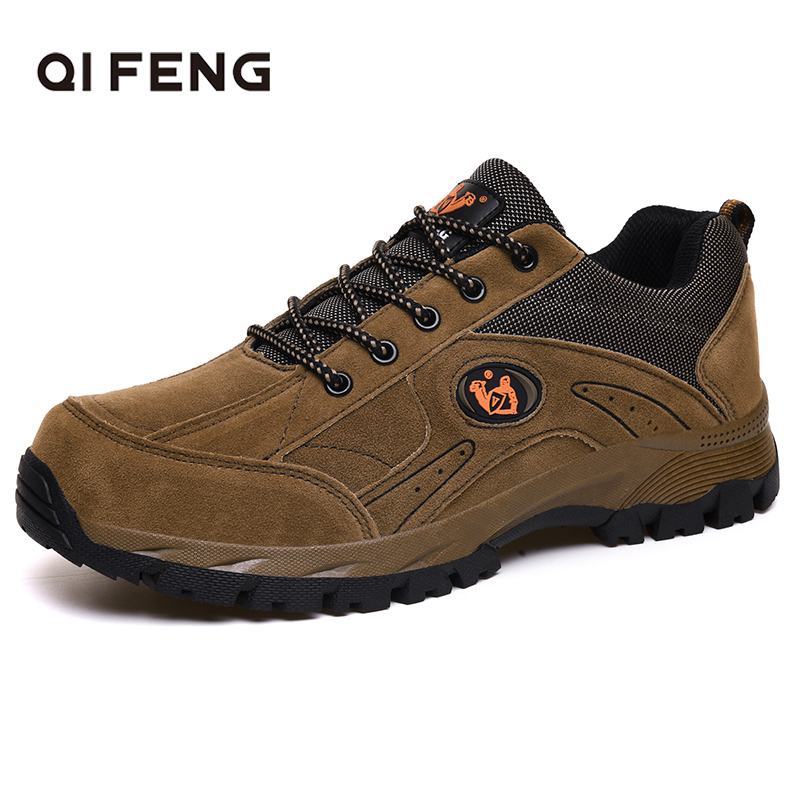 Large Size 36 49 Autumn Winter Men Women Outdoor Sports Casual Shoes Hiking Boots Comfortable Sneakers Couple Walking Footwear|Hiking Shoes| |  - title=