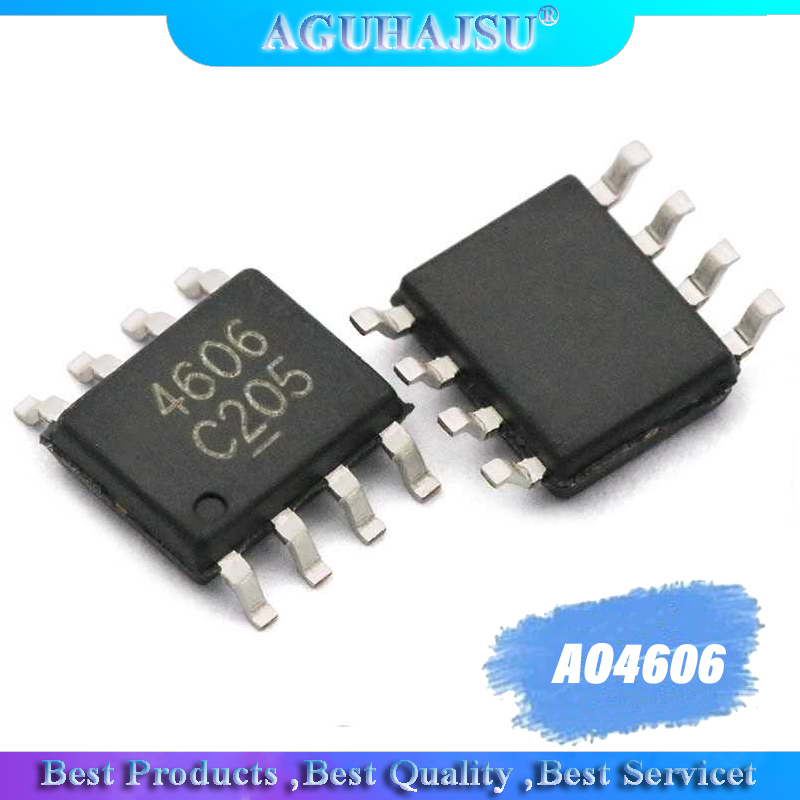 10pcs//lot AO4407AL AO4407A AO4407 4407A 4407 SOP8 30V 12A P-Channel MOSFET