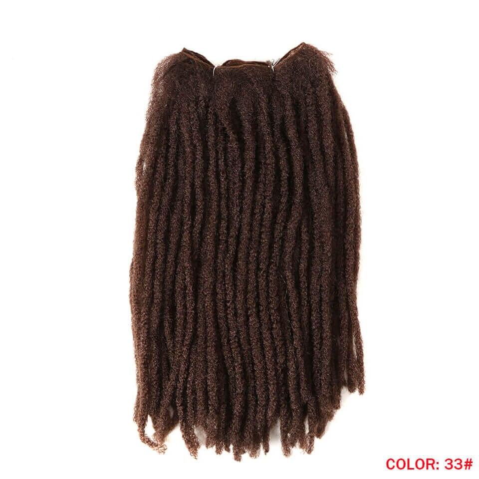 cabelo sintético a granel para preto
