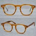 Винтажные оптические очки с клипсой, оправа, ацетатные очки, Оливер Джонни Депп, очки для чтения для женщин и мужчин, очки с черепаховой опра...
